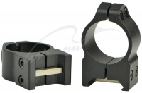Кольцa Warne MAXIMA Fixed Rings. Диаметр - 25.4 мм. Высота основания - 9.5 мм. Под планку Weaver/ Picatinny. 23700211