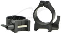 Кольцa быстросъемные Warne MAXIMA Quick Detach Rings. Диаметр - 30 мм. Высота основания - 6.3 мм. Под планку Weaver/ Picatinny. 23700216