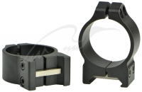Кольцa Warne MAXIMA Fixed Rings. Диаметр - 30 мм. Высота основания - 6.3 мм. Под планку Weaver/ Picatinny. 23700219