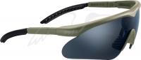 Очки баллистические Swiss Eye Raptor. Цвет - оливковый. 23700509