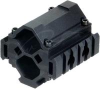 Крепление подствольное UTG (Leapers) MNT-BR005XL. 3 планки. Диаметр ствола - 20-25мм. Длина - 61 мм. Ширина - 61 мм. 23700825