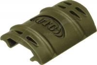 Набор (12 шт) защитных накладок UTG (Leapers) на профиль Picatinny. 23700850
