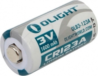 Батарея Olight CR123A 3.0V,1600mAh. 23701275