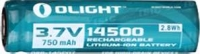 Аккумуляторная батарея Olight 14500 3,7V 750mAh. 23701368
