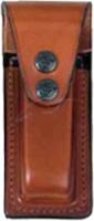 Подсумок Front Line FL 2286 для пистолетного магазина. Материал - кожа. Цвет - коричневый. 23702228