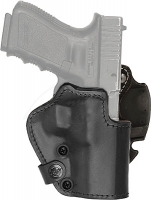 Кобура Front Line LKC для Glock 26/27/28. Материал - Kydex/кожа/замша. Цвет - черный. 23702235