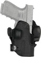 Кобура Front Line KNGxxSR с замком для Glock 19/23/32. Материал - Kydex. Цвет - черный. 23702265