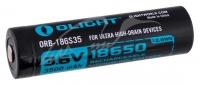 Аккумуляторная батарея Olight 18650 HDС (10A) 3500mAh. 23702465