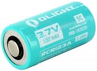 Аккумуляторная батарея Olight RCR 123 Li-Ion 550mAh для S1R. 23702605
