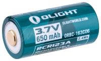 Аккумуляторная батарея Olight 16340 с зарядным портом micro-USB. 23702825