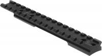 Планка Nightforce X-Treme Duty для Remington 700 Short Action. 20 MOA. Пикатинни. Сталь. 23750090