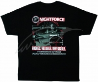 Футболка Nightforce AR-Themed. Цвет - черный. 23750117