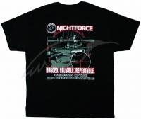 Футболка Nightforce AR-Themed. Цвет - черный. 23750117