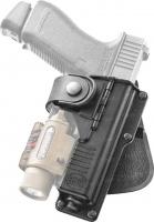 Кобура Fobus для Glock-17/22 с подствольным фонарем. 23701761