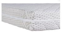 Детский матрас с чехлом беспружинный 120х60 Солодких Снів Organic Cotton Comfort Premium - 12 см. (кокос, полиуретан, кокос)  белый. 31029