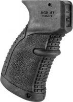 Рукоятка пистолетная FAB Defense AGR-47 прорезиненная для АК-47/74 (Сайга). Цвет - черный. 24100006