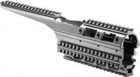Цевье FAB Defense VFR-AK для АК47/74. Материал - алюминий. Цвет - черный. 24100019
