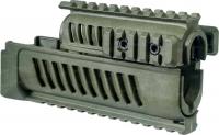 Цевье FAB Defense AK-47 полимерное для АК47/74. Цвет - оливковый. 24100045