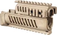 Цевье FAB Defense AK-47 полимерное для АК47/74. Цвет - песочный. 24100046