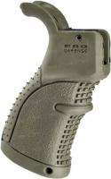 Рукоятка пистолетная FAB Defense AGR-43 прорезиненная для M4/M16/AR15. Цвет - оливковый. 24100067