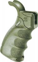 Рукоятка пистолетная FAB Defense AGF-43S тактическая складная для M4/M16/AR15. Цвет - оливковый. 24100070
