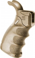 Рукоятка пистолетная FAB Defense AGF-43S тактическая складная для M4/M16/AR15. Цвет - песочный. 24100071