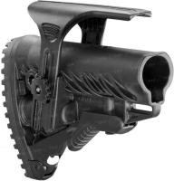 Приклад FAB Defense GLR-16 CP с регулируемой щекой для AR15/M16. Цвет - черный. 24100077