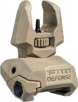 Мушка складная FAB Defense FBS на планку Picatinny. Цвет - песочный. 24100088