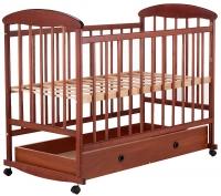 Детская кровать Наталка ОТЯ ящик  ольха темная. 31016
