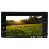 """Автомагнитола LUX 261HD, LCD 6.1"""", Bluetooth, FULL TUCH SCREN, TV-тюнер, 2-DIN, 4х50W. 31659"""