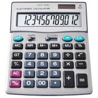 Калькулятор 999, двойное питание Lux. 31932
