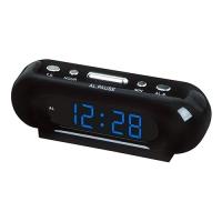 Часы сетевые VST-716-5 синие, 220V. 32822