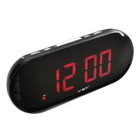 Часы сетевые VST-717-1 красные, USB. 32823