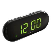 Часы сетевые VST-717-2 зеленые, USB. 32824