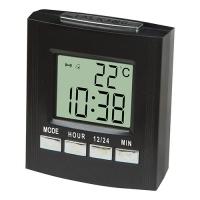 Часы электронные говорящие VST-7027С, температура, 2*AA. 32868