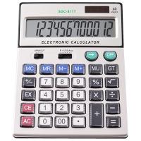 Калькулятор 8177, двойное питание Lux. 31931