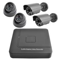Комплект видеорегистратор+камеры Lux KN1004DP. 31977