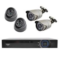 Комплект видеорегистратор+камеры Lux KN7904DP. 31978