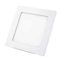 Точечный LED-светильник PL 9W 148х148x17мм, квадрат, алюминий - 38 Lux. 32141