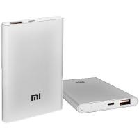 Power Bank MI Slim 5000mAh USB(2A), индикатор заряда (3600mAh) Lux. 31628