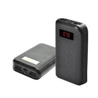 Power Bank REMAX PRODA 10000mAh 2USB(1A+2A), цифровой дисплей, фонарик 1LED -132 (3000mAh) Lux. 31629