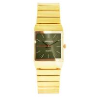 Часы наручные мужские на браслете GOLDLIS 1059 золотой, квадрат. 32811