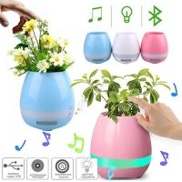 Bluetooth-колонка YX-HP201, цветочный горшок Lux. 31605
