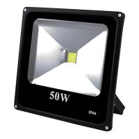 Прожектор светодиодный матричный Lux 50W COB, IP66 (влагозащита), гладкий рефлектор - 9. 32059