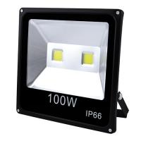 Прожектор светодиодный матричный Lux 100W 2COB, IP66 (влагозащита), гладкий рефлектор - 10. 32058