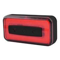 Фонарь велосипедный Raypal RPL-2286-COB, ЗУ micro USB, встроенный аккумулятор, Waterproof, Light Sensor Lux. 32435