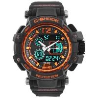 Часы наручные C-SHOCK GW-4000 Black-Orange. 32725