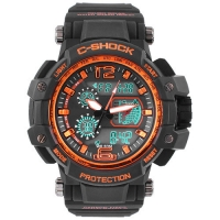 Часы наручные C-SHOCK GW-4000B Black-Orange. 32728