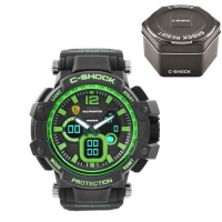 Часы наручные C-SHOCK GW-4500 Black-Green, Box. 32733