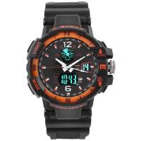 Часы наручные C-SHOCK GWA-1100 Black-Orange. 32735